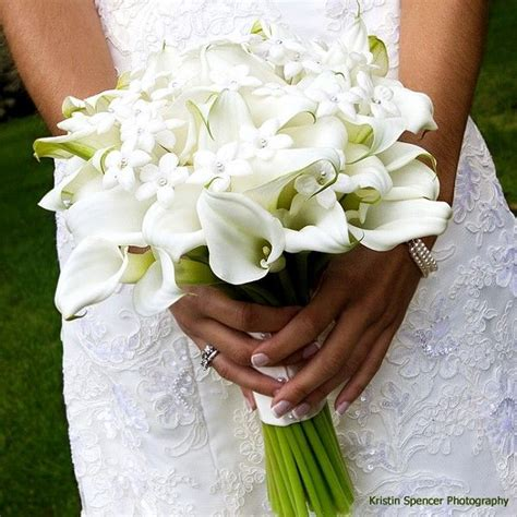 mini calla lily bouquet fairytale wedding pinterest