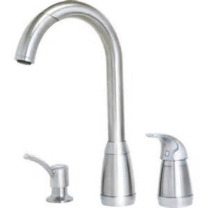 Price Pfister Contempra Kitchen Faucet Price Pfister T526 5ss Contempra 3 Hole Pull Down