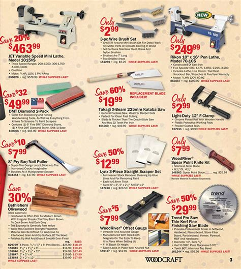 Woodcraft Black Friday 2015 Woodworking Tool Deals