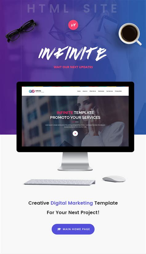Infinite Digital Marketing Html5 Template Download Nulled Rip Digital Marketing Responsive Website Template Free
