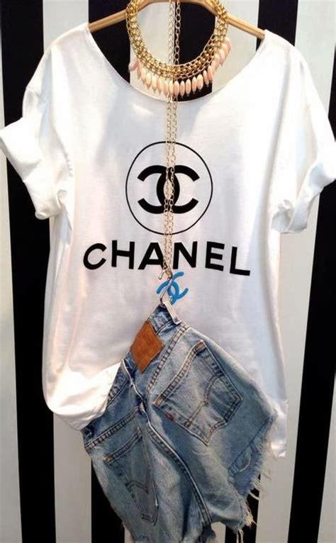 T Shirt Kaos Coco Chane 1 chanel t shirt inspiration