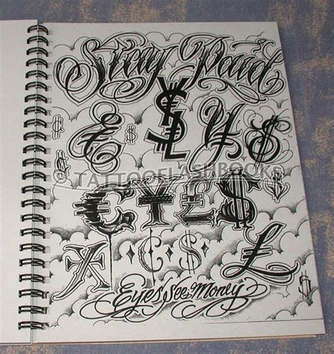 tattoo lettering flash boog norm tha union gangster chicano chicano tatoos