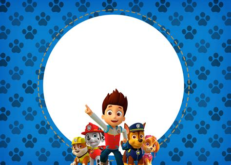 printable birthday card paw patrol paw patrol free printable invitations is it for
