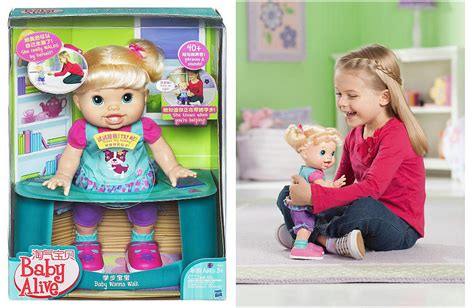 baby alive stuff 19 reg 50 baby alive wanna walk doll at toysrus