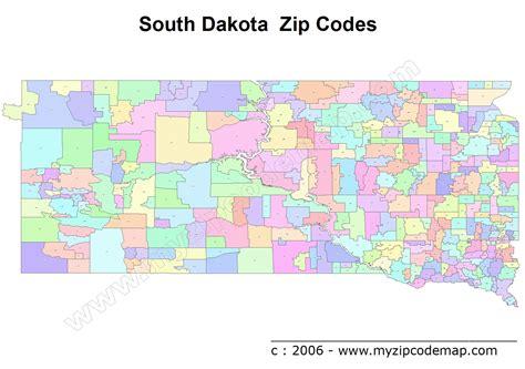 dakota zip code map south dakota zip code maps free south dakota zip code maps