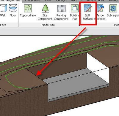 revit in plain english: pad not cutting existing toposurface