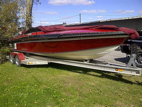 cigarette boats for sale in ontario 26 foot cigarette with custom tandem axle trailer for sale
