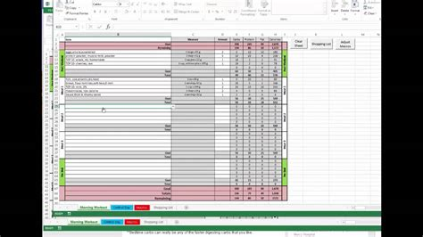Meal Plan Spreadsheet by Eat To Perform Meal Planning Spreadsheet