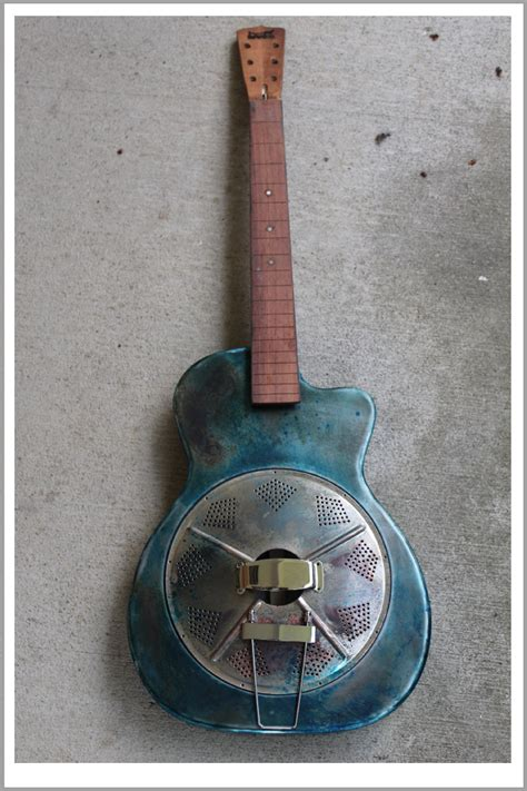 Handmade Resonator Guitars - handmade mule electric resonator guitar mule resophonic