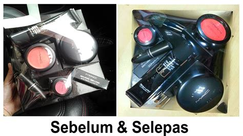 Set Make Up Untuk Hantaran Hanis Sania Balut Set Make Up Mac Untuk Hantaran Sendiri