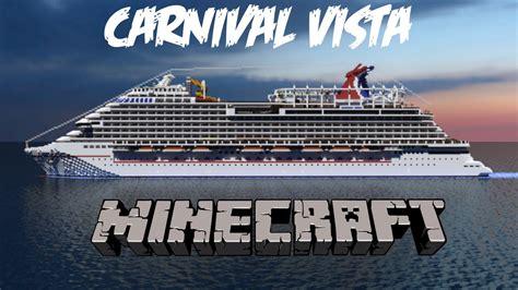 carnival vista boat carnival vista in minecraft cinematic download 1 1