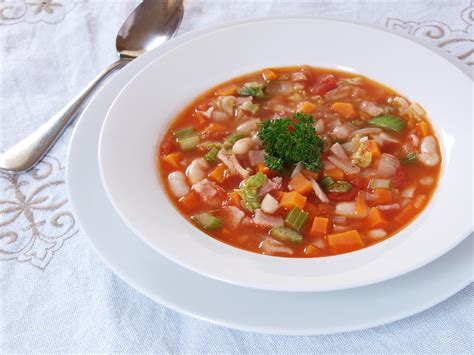 types of vegetable soups minestrone ang sarap