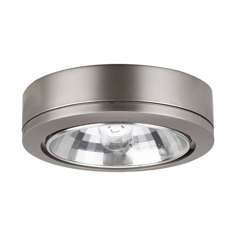 ambiance by sea gull 9485 accent disk cabinet light
