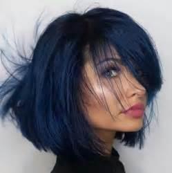 best hair color for black hair best 25 blue black hair color ideas on navy