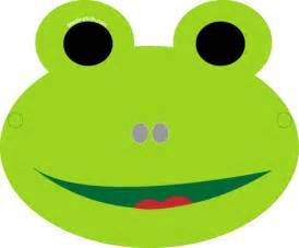 best photos of frog face template frog mask templates