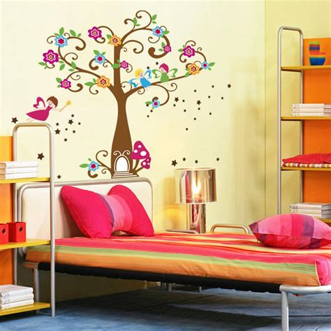 wall murals for playrooms magic tree house wall decal stickers decor for room nursery playroom home