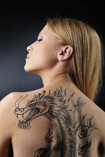 lady with the dragon tattoo tattoos