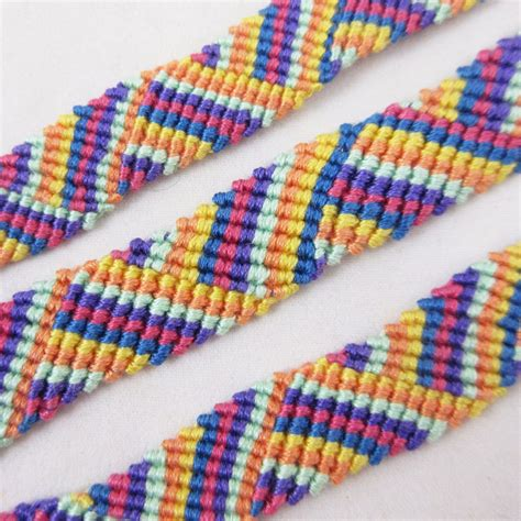 Handmade Yarn Bracelets - new unisex friendship band bands multi color thread