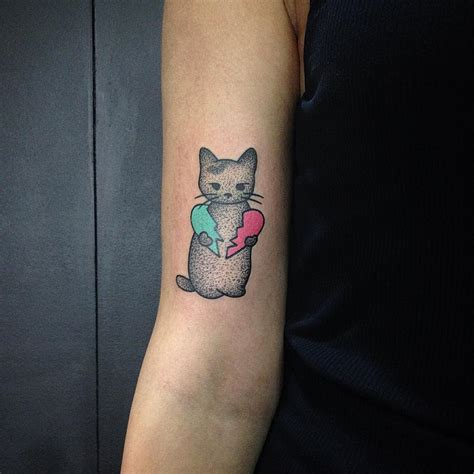 45 cute cat tattoo designs and ideas spiritual luck