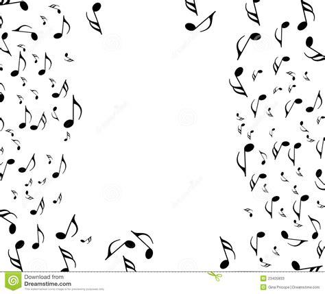 imagenes en blanco y negro de notas musicales notas musicales fotos de archivo imagen 23405833