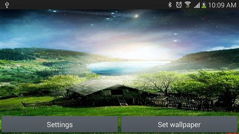 nature live wallpapers for android