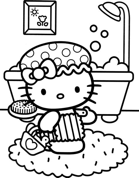 coloring pages bad kitty coloring pages cool hello kitty coloring pages download