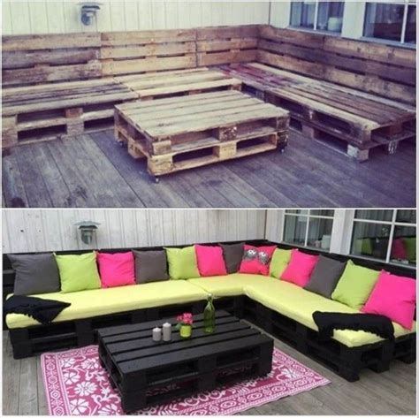 creative furniture ideas 40 creative pallet furniture diy ideas and projects
