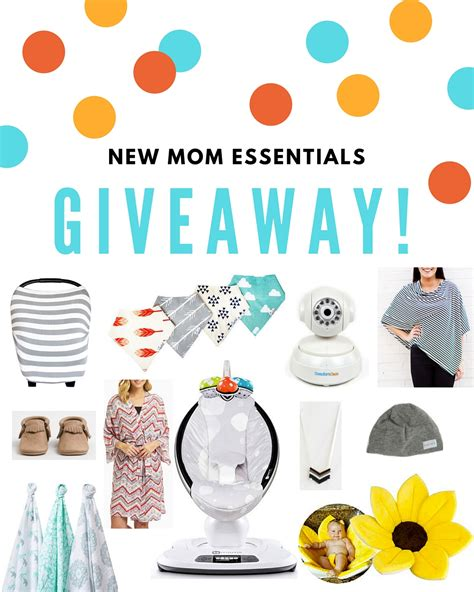 Mom Giveaway - new mom essentials giveaway mommy status
