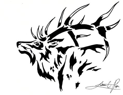 elk tattoos designs elk search tattoos