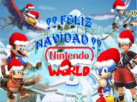 imagenes graciosas llego navidad ya llego la navidad nintendo world