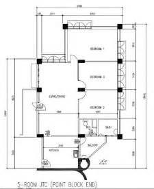 5 Room Floor Plan by Jtc 5 Room Flat