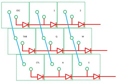 diodes and resistors keyboard keyboard matrix or not deskthority