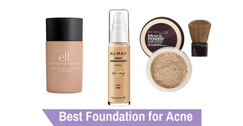 Foundation Acnes Best Foundation For Acne Of 2017 Make Up By Chelsea