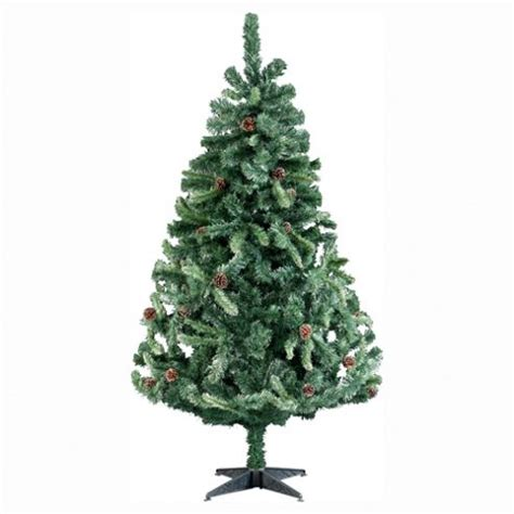 buy tesco 6ft frosted mountain cone christmas tree from