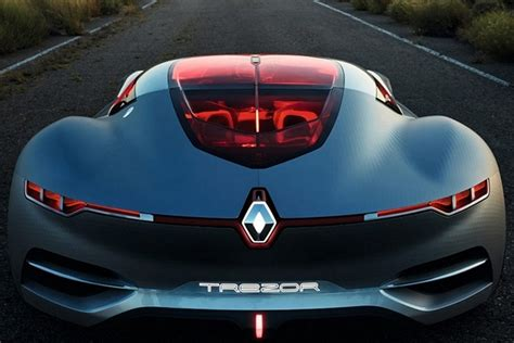 Renault Future Electric Cars Renault Trezor Concept