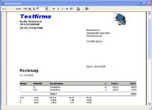 Rechnung Schweiz Stellen easy rechnung