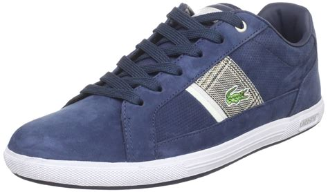 lacoste sneakers mens lacoste mens europa nc sneaker in blue for navy lyst
