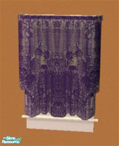 Rebelxgirl S Dark Purple Antique Lace Curtains