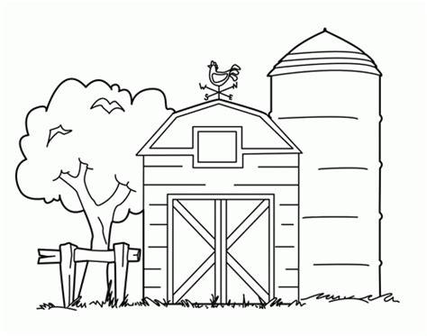 easy barn coloring pages coloriage d animaux de la ferme