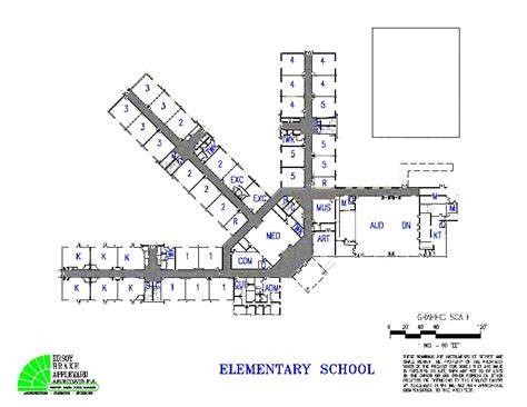 elementary school floor plan middle fork elementary school