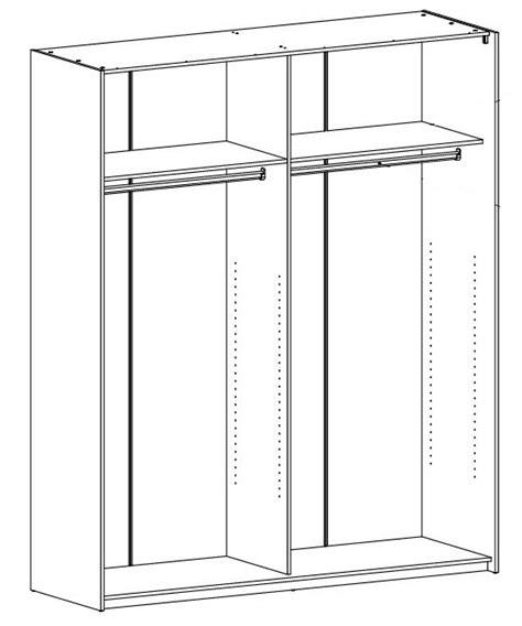 roupeiro 2 portas deslizantes 182 cm firenze 6378 conforama