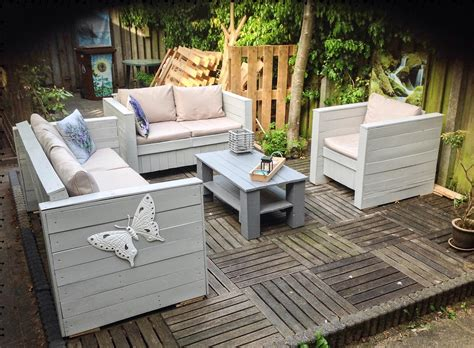 Pallet Outdoor Furniture Practical Yet Chic Ideas Patio Pallet Furniture
