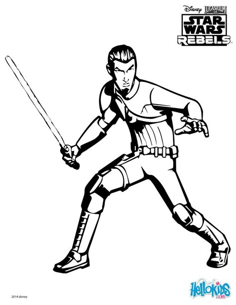 star wars ezra coloring page swr kanan coloring pages hellokids com