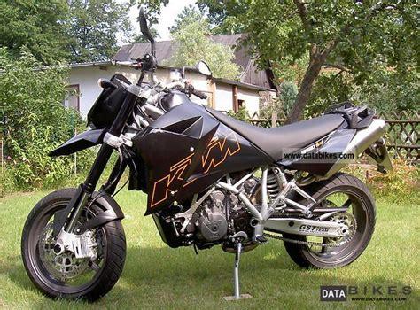 Ktm Lc8 2005 Ktm 950 Lc8 Supermoto Akrapovic Black Bags