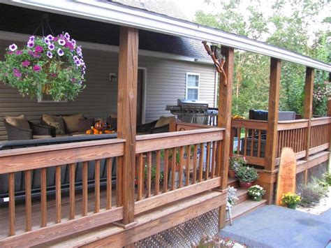 rear porch small back porch decorating ideas for houses scenery