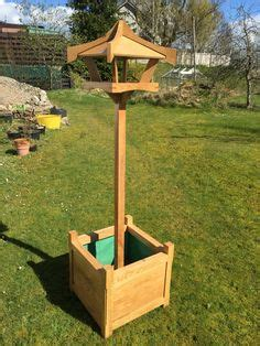 Bird Table With Planter Base by Oak Bird Table Top Planter Bird Tables