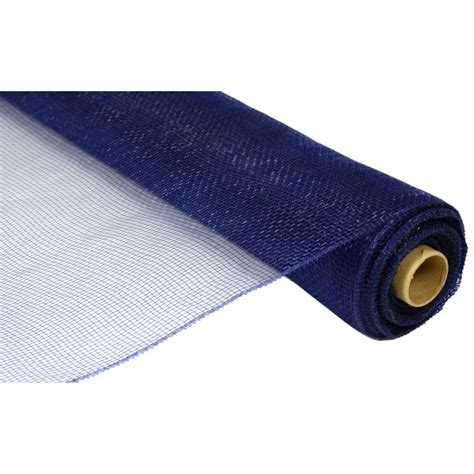 21 quot poly deco mesh navy blue re100219 craftoutlet com