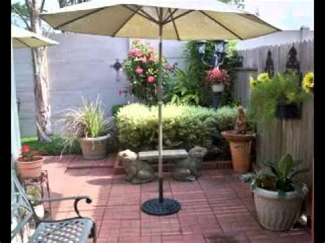 Cheap Backyard Deck Ideas Diy Courtyard Decorating Ideas Youtube