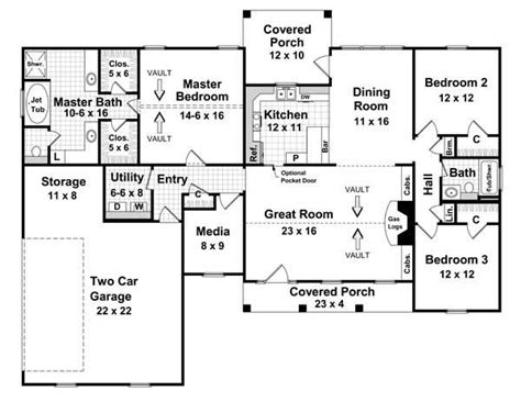one story passive solar house plans floor plan story has potential but definitely