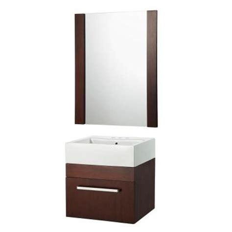 home depot vanity mirror bathroom foremost rayne 20 in floating vanity with square vitreous
